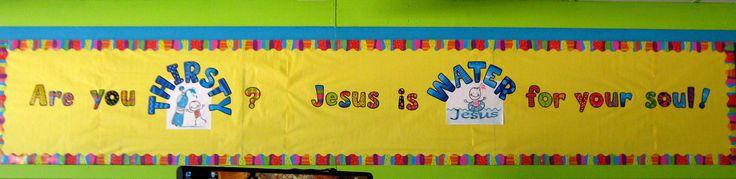 Faith bulletin board