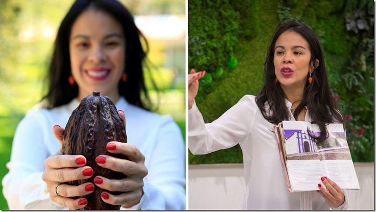 """""""Helen Chocolate"""": La embajadora del cacao venezolano en Madrid http://www.inmigrantesenmadrid.com/2016/12/helen-chocolate-cacao-venezolano-madrid/"""
