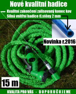 Smrštovací hadice 15 m novinka 2016