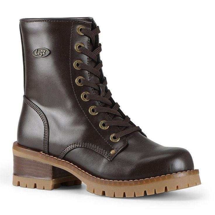 Lugz Tamar Women's Combat Boots, Size: medium (9.5), Brown