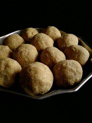 Indian Cuisine: Oats Peanut Laddoo