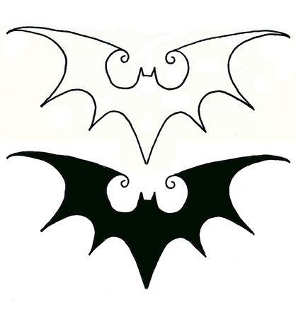 My next tattoo! Perfect blend of Batman/Tim Burton who have always influenced my life. Thinking on my rib cage.