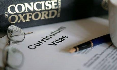 Academic CVs: 10 Irritating Mistakes | The Guardian Higher Education Network, Steve Joy, 1 Nov 2013