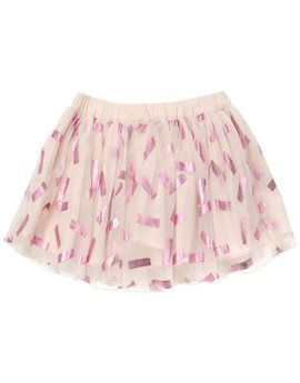 STELLA MCCARTNEY KIDS Girls Pink Tulle Party Skirt. Shop here: http://www.tilltwelve.com/en/eur/product/1079690/STELLA-McCARTNEY-KIDS-Girls-Pink-Tulle-Party-Skirt/