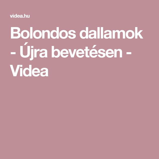 Bolondos dallamok - Újra bevetésen - Videa