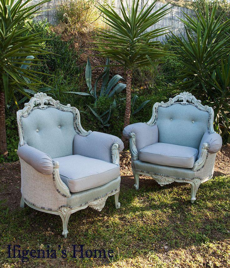 armchairs refurbished @ IfigeniasHome