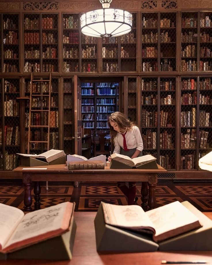 Victorian Home Library: Hogwarts Aesthetic, Book Aesthetic