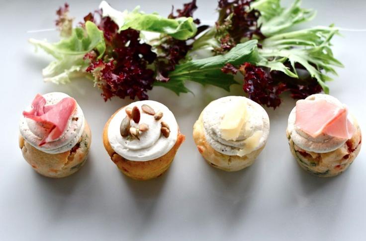 #Ghermez Savoury #Cupcake