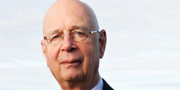 Klaus Schwab, fondateur et Président Exécutif du Forum Économique Mondial.