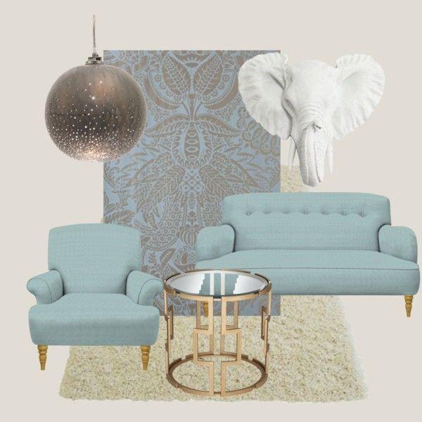 Orangerie by petra-hus on Polyvore featuring interior, interiors, interior design, home, home decor, interior decorating, Jayson Home and Farrow & Ball