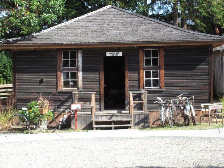 Heritage Buildings Parksville Museum & Archives. Montrose School House
