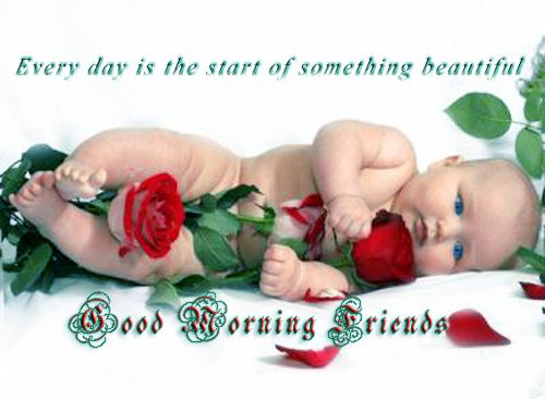 Good morning friends and fam.  Have a wonderful day!.