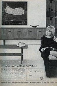 Nathan Corinthian sideboard, 1960s