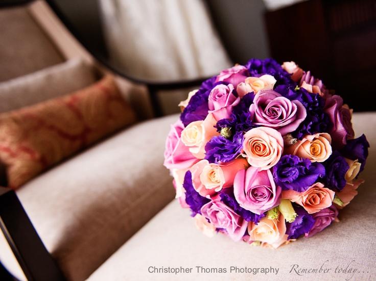 Brisbane Wedding Photography - wedding flowers, Christopher Thomas Photography