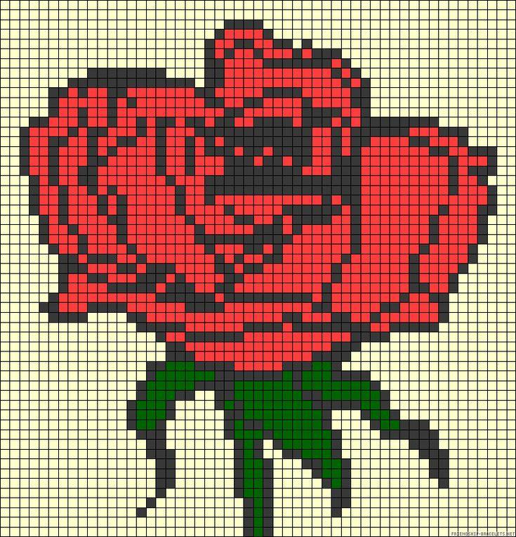 1000+ images about Flower perler designs on Pinterest ...