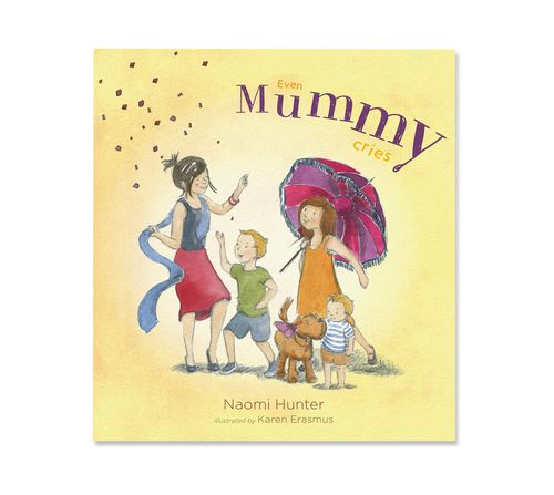 'Even Mummy Cries' by Naomi Hunter, book review by COPMI