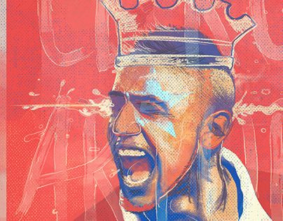 "Check out new work on my @Behance portfolio: ""Ases de America - El Rey Arturo ""VIDAL"""" http://on.be.net/1v6ypcS"