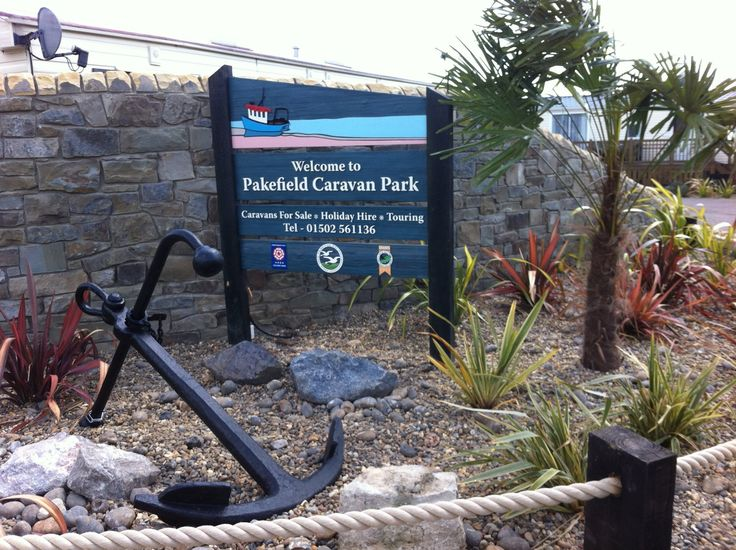 pakefield caravan park in Lowestoft, Suffolk