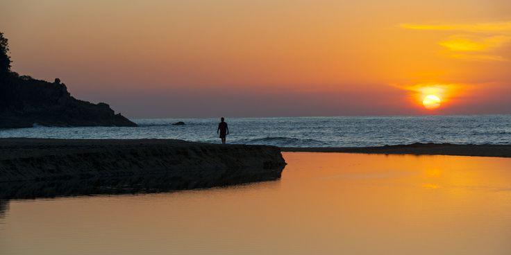 ¿Que tal esta postal de #playa de #Sayulita en #RivieraNayarit? ¡perfecta para el romance! http://www.bestday.com.mx/Riviera-Nayarit/Atracciones/