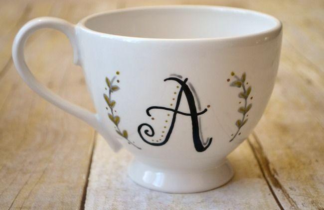 Food Safe Personalized Mugs - One Artsy Mama