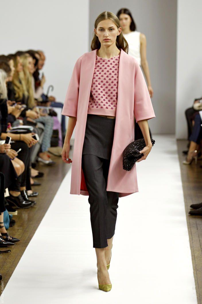 Osman - soft coat + embellished crop top