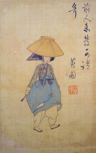 Yoon Bok Shin 신윤복(申潤福) 1758 ?-1817, Korea