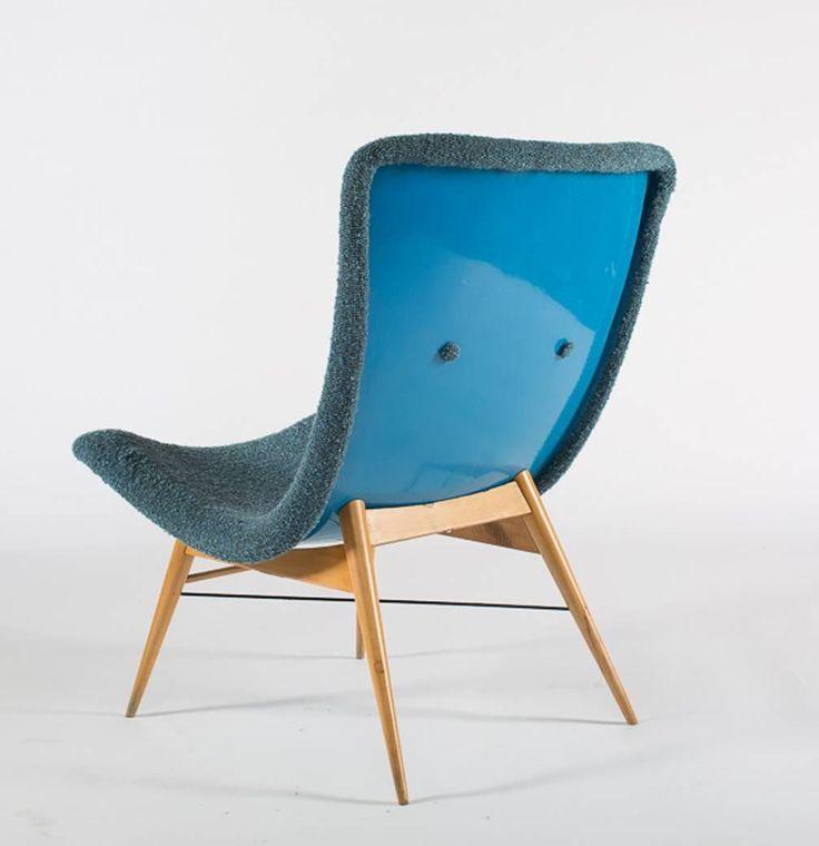Lounge Chairs by Miroslav Navratil 4