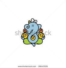 Image result for ganesha doodle.
