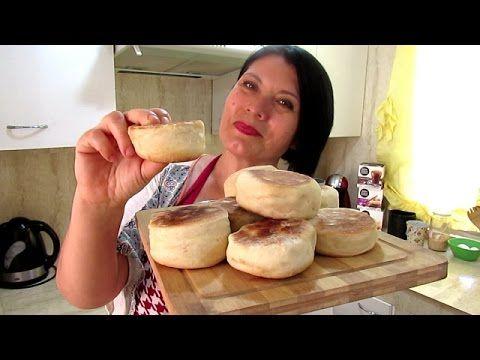 PANCITOS SIN HORNO/ HUEVOS BENEDICTINOS ( MUFFINS INGLESES) / Silvana Cocina ❤ - YouTube
