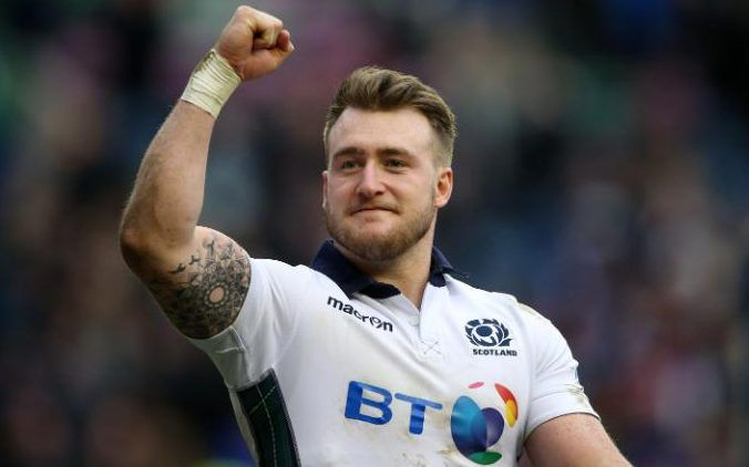 Stuart Hogg - Team GB's dream rugby sevens line-up