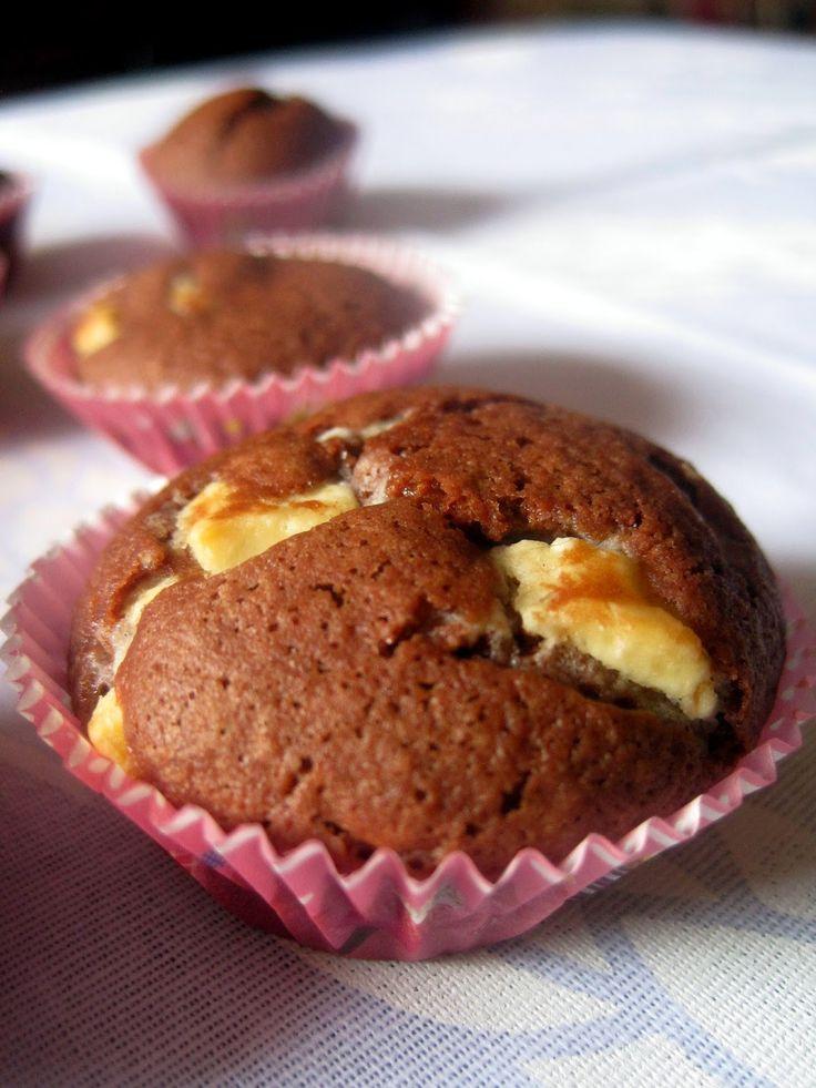 Muffin al doppio cioccolato - Double chocolate Muffin