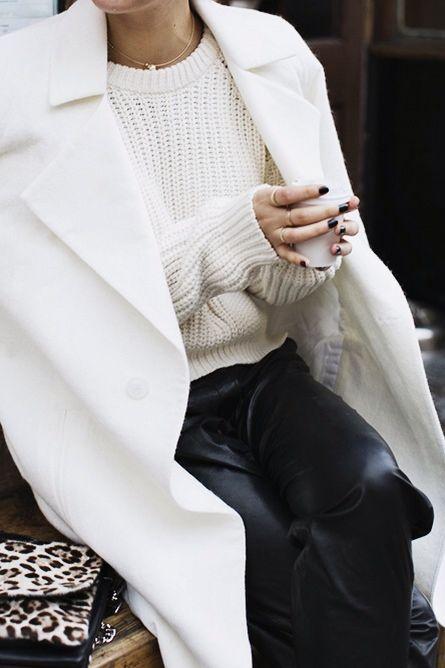 white coat: