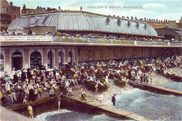 Ramsgate Pavilion and Beach