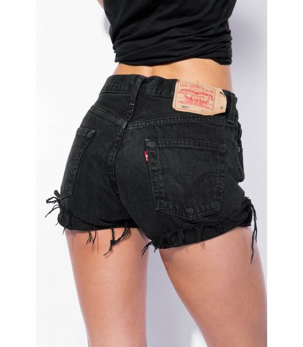 black levi shorts
