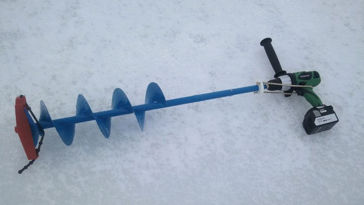 Convert Hand Auger via Hand Drill Question - Ice Fishing ...