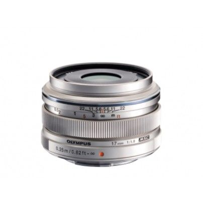 OLYMPUS M.ZUIKO 17/1.8 silver (Pen & OM-D) Perfect prime lens with high aperture. Super sharp details.
