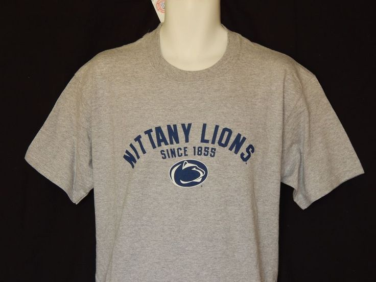 Penn State Nittany Lions Tee Shirt MENS Size Medium NCAA Team Apparel PSU Logo…