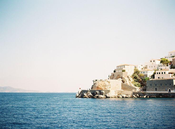 Hydra Island, Greece | Amazing location for a #destinationwedding or #honeymoon | Photographed by film destination wedding photographers Les Anagnou | Greek weddings, weddings in Greece