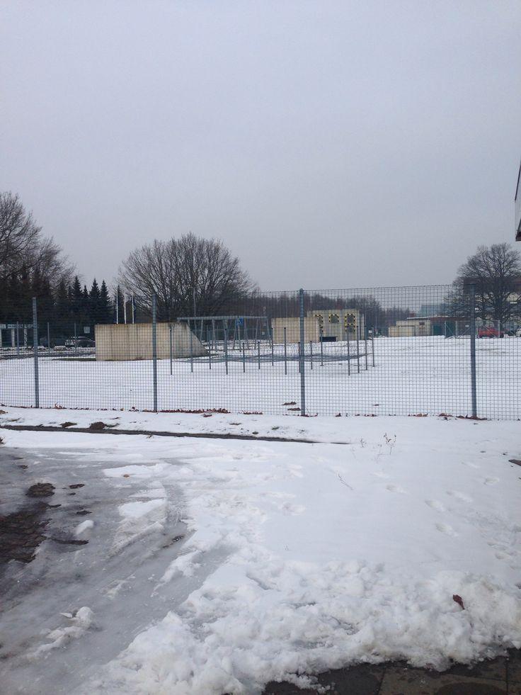 Fallingbostel barracks in January  ⛄️❄️