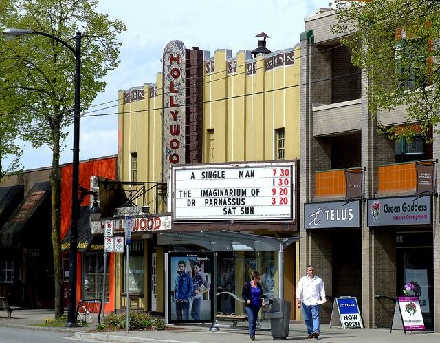 Hollywood Theatre West Broadway, Kitsilano, Vancouver B.C. Canada by MicaDogg, via Flickr