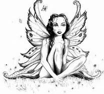 intricate fairy coloring pages bing images - Coloring Pages People Realistic
