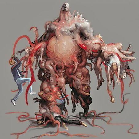Nyx art concept, resident evil outbreak file#2