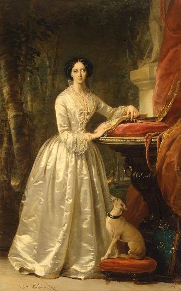Portrait of Grand Duchess Maria Alexandrovna. By Christina Robertson