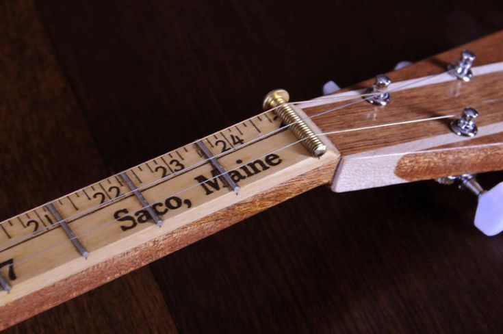 Brick Yard Stick-07 - Cigar Box Nation. Perfect for measuring out your fret wires on your Strum Stick.