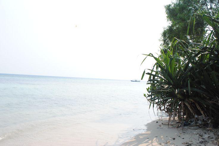 (Masih) di Pulau Tidung, Jakarta.