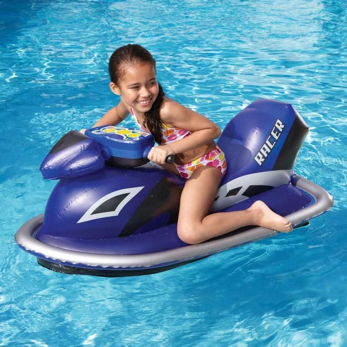 Jet Racer Watercraft Pool Toy. Awesome! It really works.