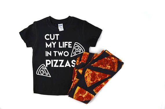 Pizza outfit Pizza Shirt Pizza Leggings Pizza joggers cute