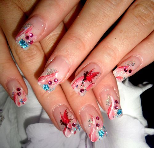 fairy nails= <3 <3 <3 <3 <3: Pixie Nails, Nails Art, Awesome Nails, Fairies Nails, Neat Nails, Art Ideas, Nails Ideas, Nails Beautiful, Beautiful Scarves