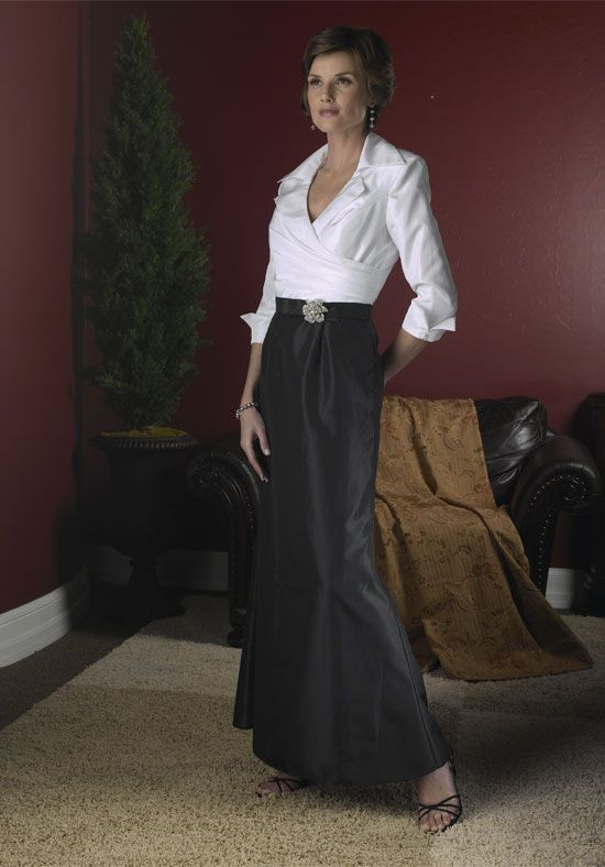 You can chose the color of the skirt on this one....It could also be made shorter.  I think its classy