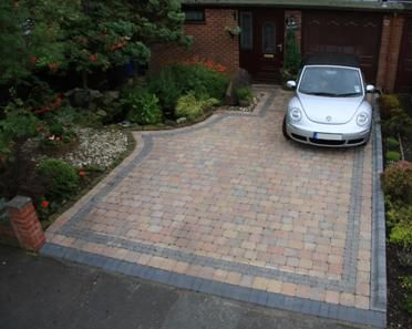 block paving driveways, Manchester, bury, rochdale, bolton, preston, lancashire and throughout the northwest